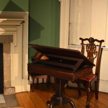 Desk and Chair at the Morris-Jumel Mansion