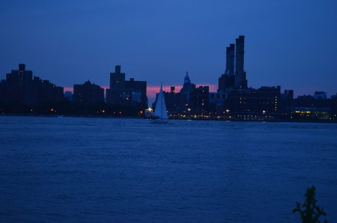 Summer Sunset in Manhattan