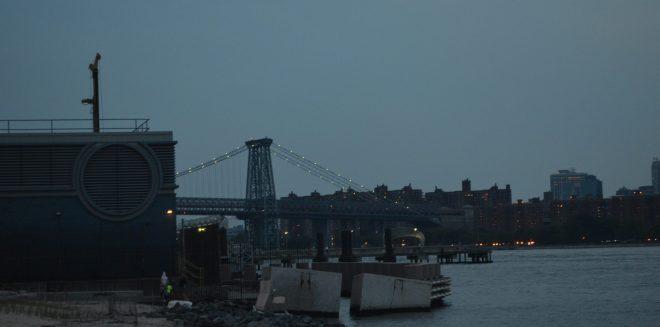 Williamsburg Bridge Across the East River