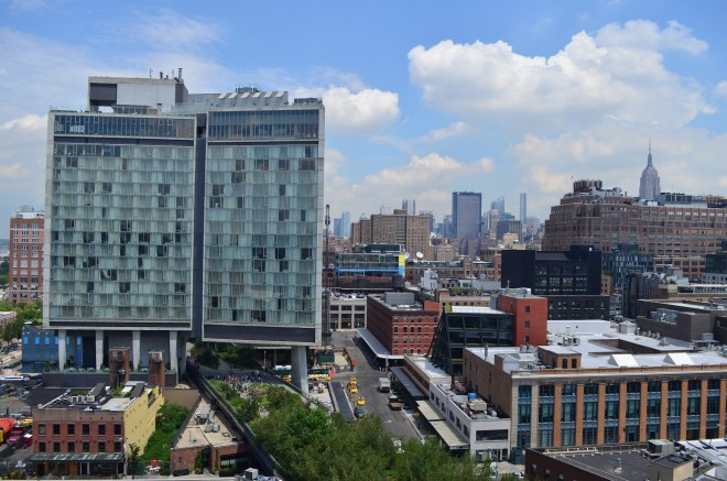 View of the Standard Hotel from the Whitney