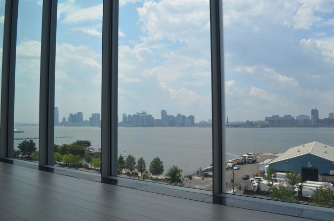 View of the Hudson from the Whitney Museum