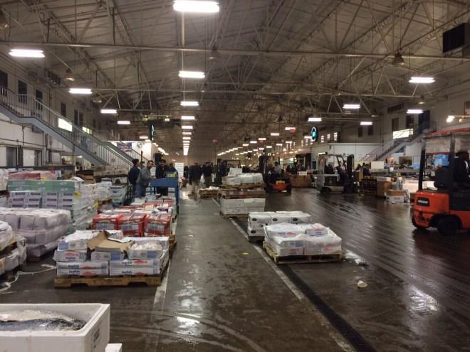Inside the New Fulton Fish Market