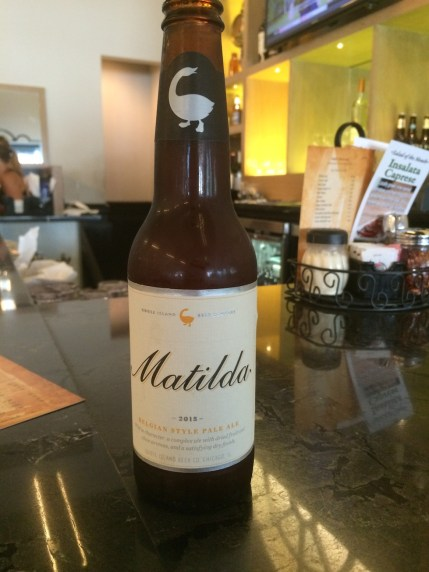 Matilda Beer by Goose Island Brewing Company
