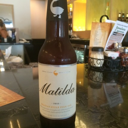 Matilda Beer by Goose Island Brewing Company