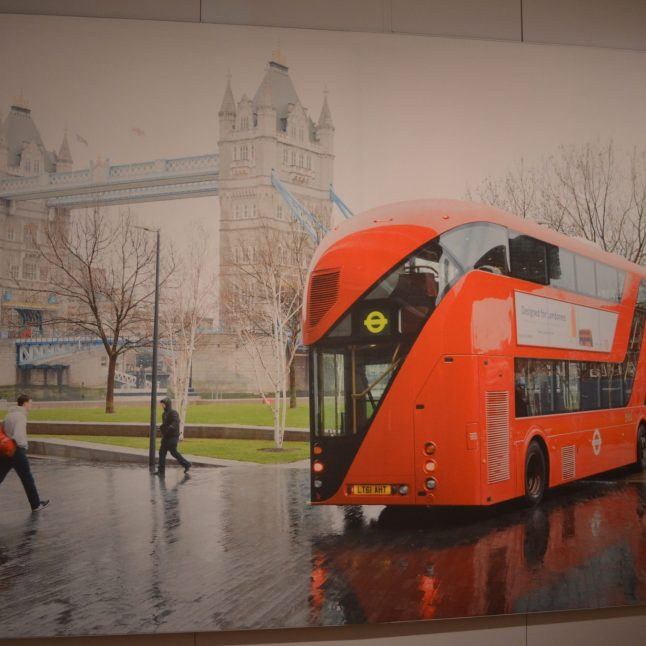 New Bus Design at Cooper Hewitt