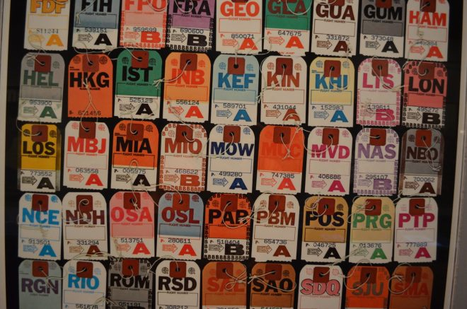 Travel Tags at the Cooper Hewitt Design Museum
