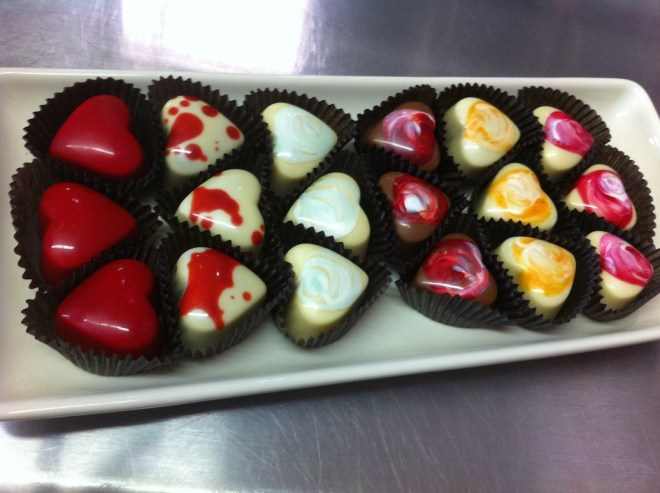 Chocolate Hearts in New York City