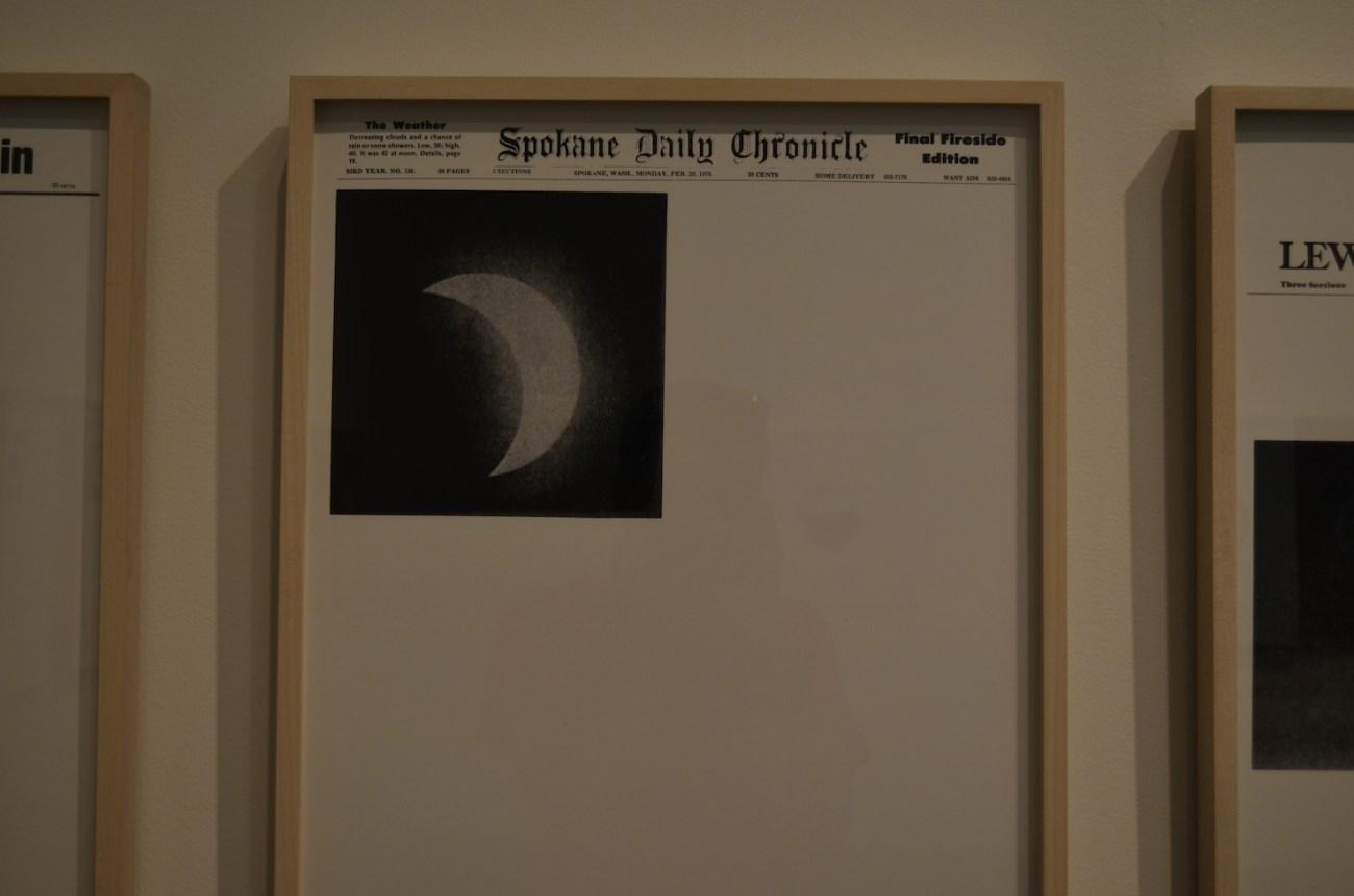 Spokane Daily Chronicle Eclipse