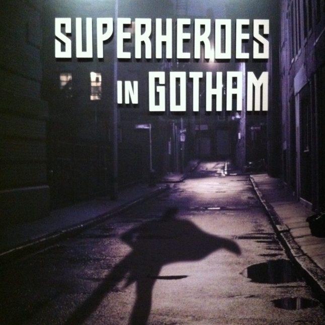 Superheros in Gotham