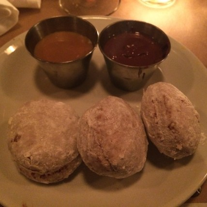 Dessert Doughnuts at Burke and Wills