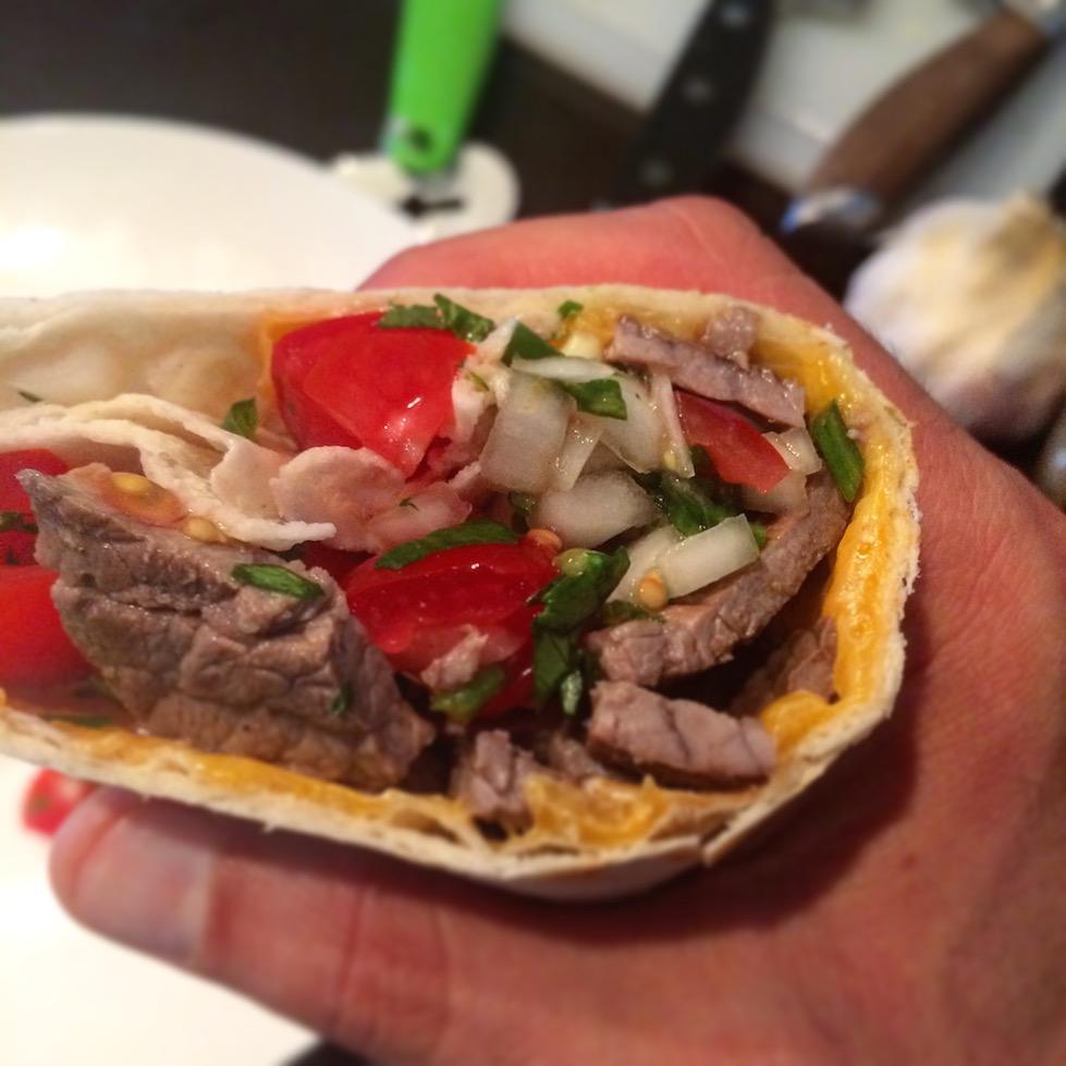 Carne Asada Burritos