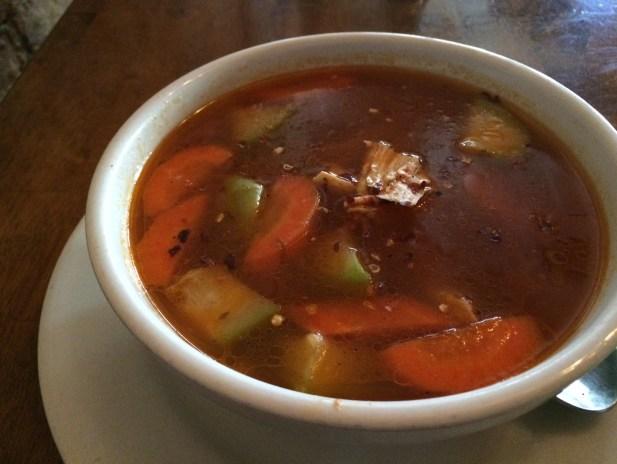 El Salvadorian Chicken Soup