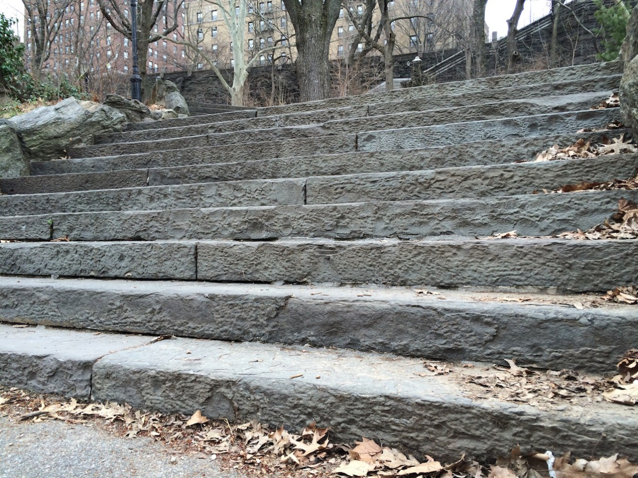 Morningside Park Stair Workout 1