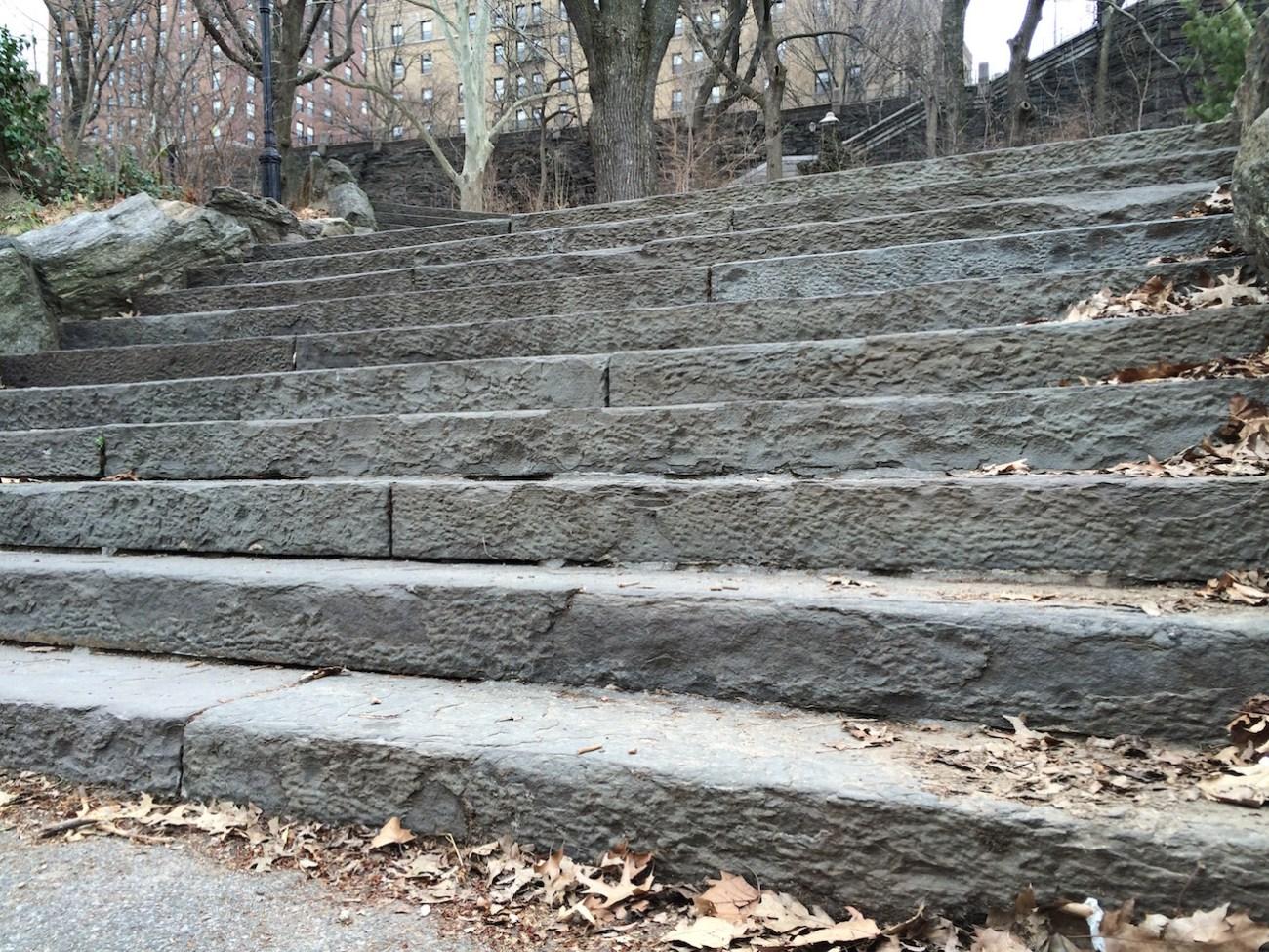 Morningside Park Stair Workout 1