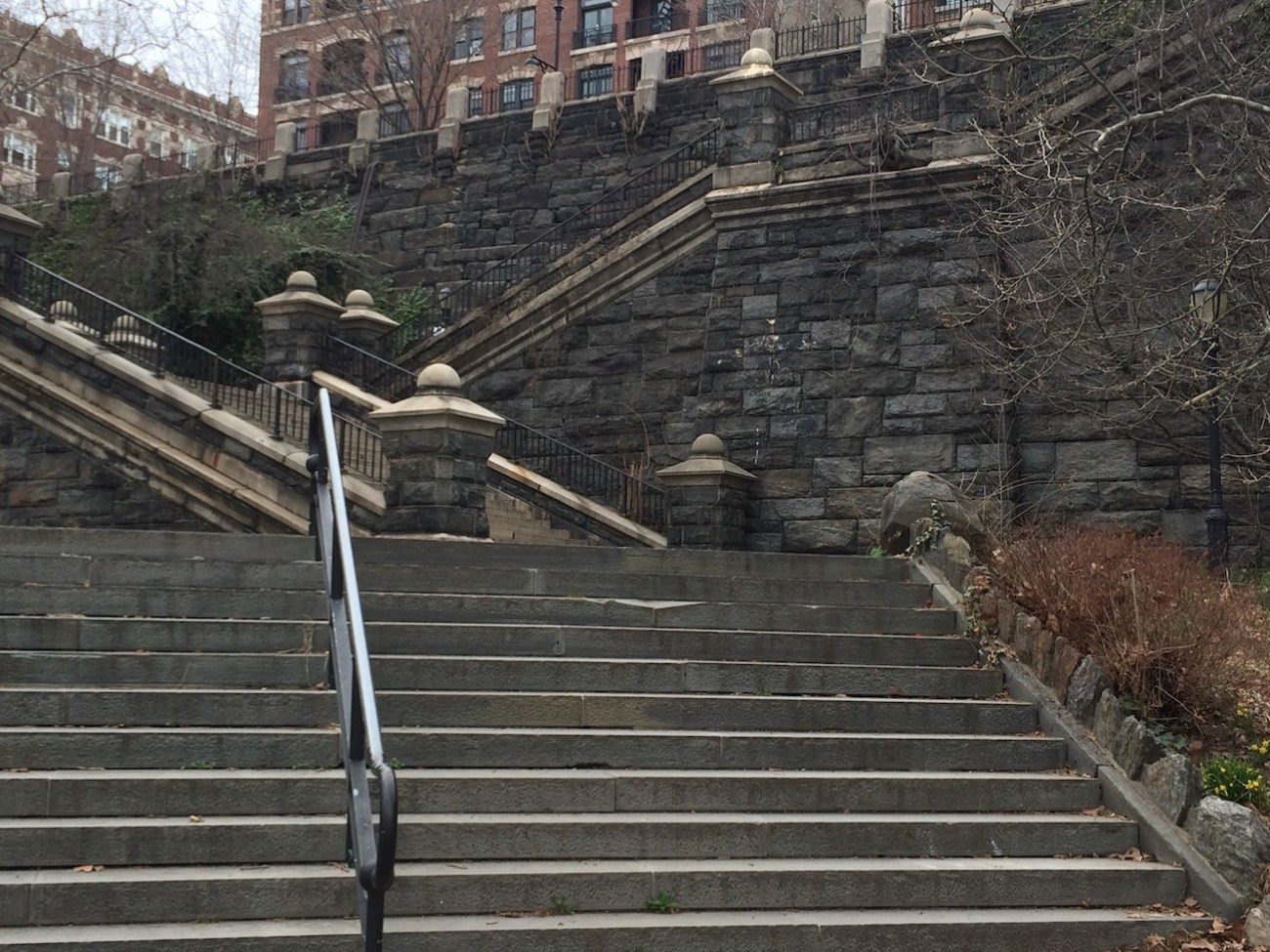 Morningside Park Stair Workout 10
