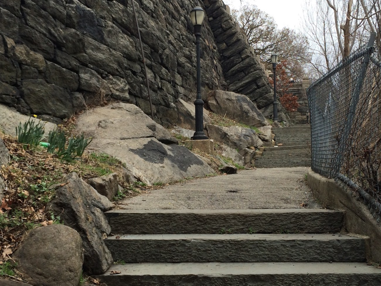 Morningside Park Stair Workout 13