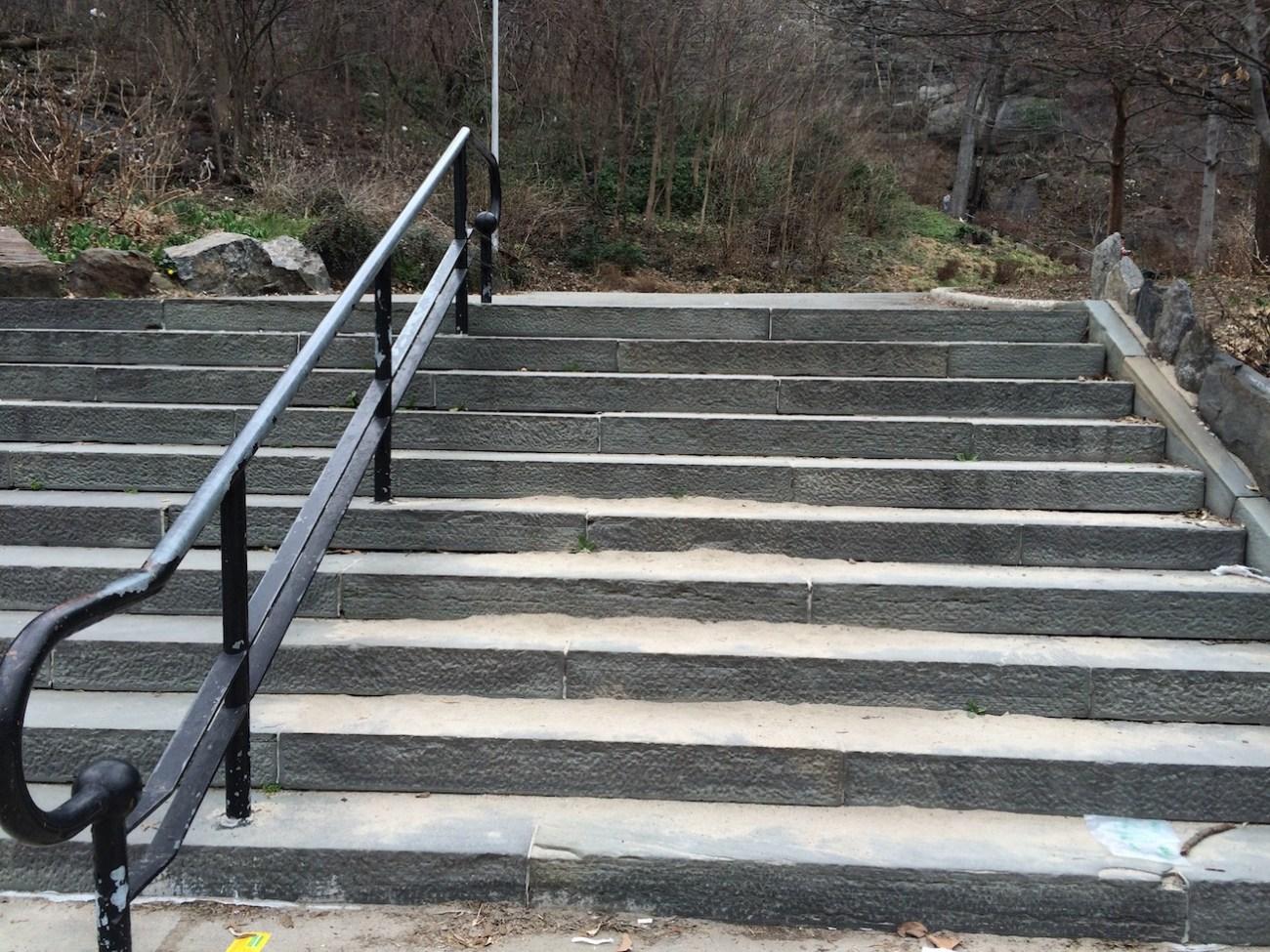 Morningside Park Stair Workout 15
