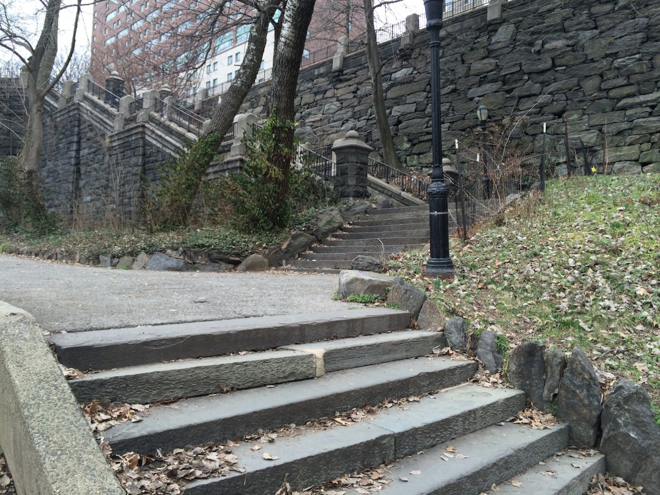Morningside Park Stair Workout 17