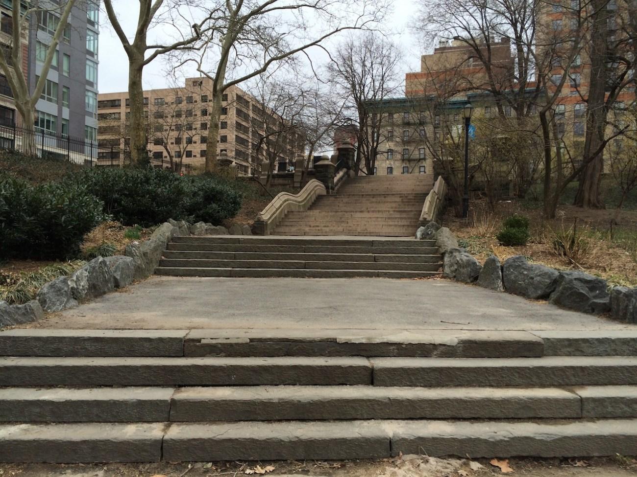 Morningside Park Stair Workout 19
