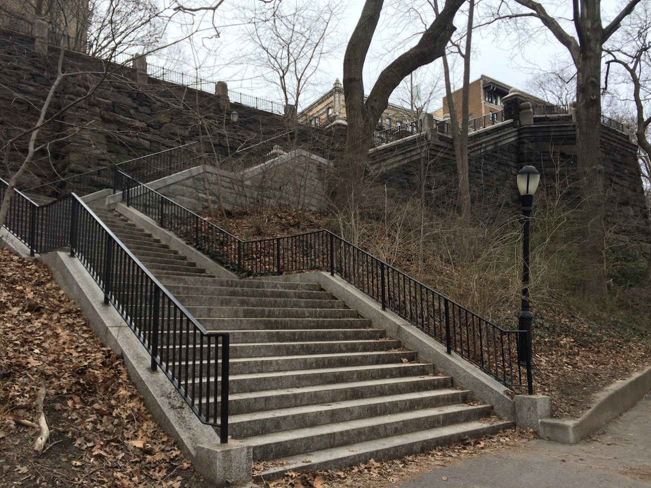 Morningside Park Stair Workout 21