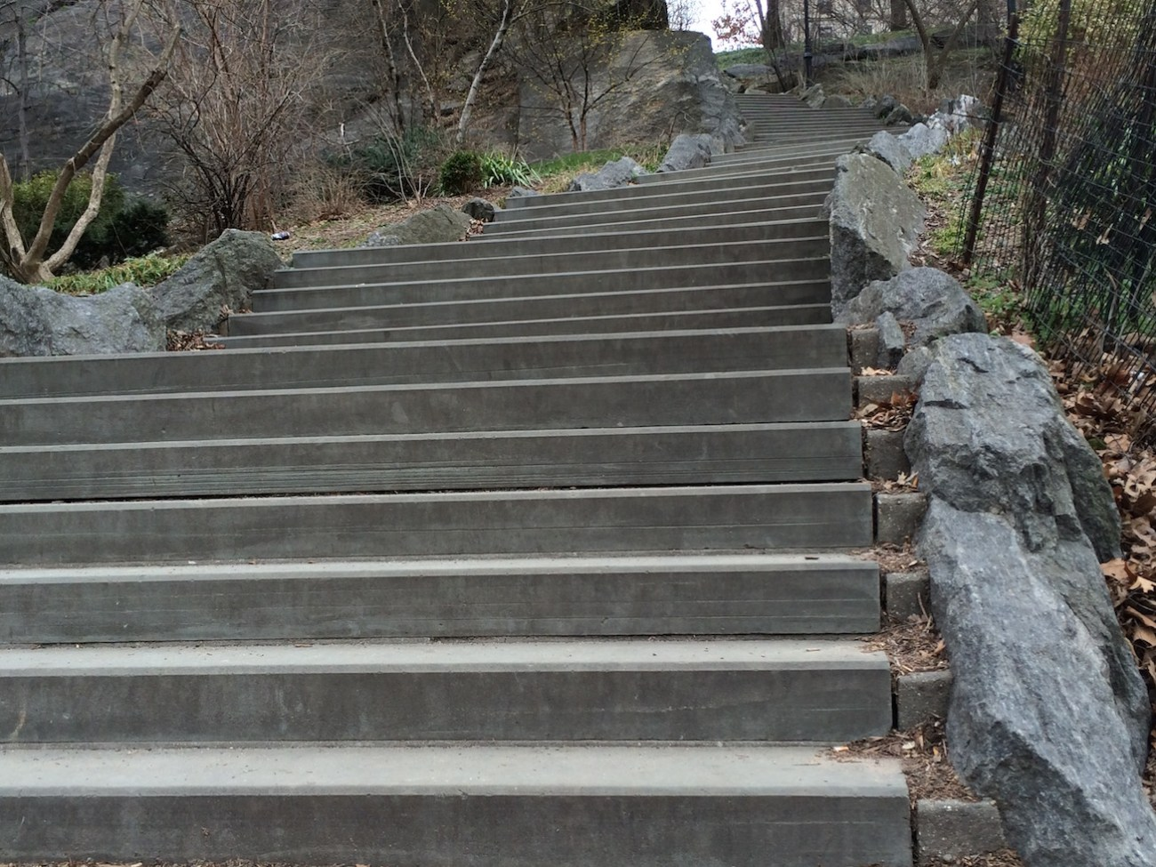 Morningside Park Stair Workout 23