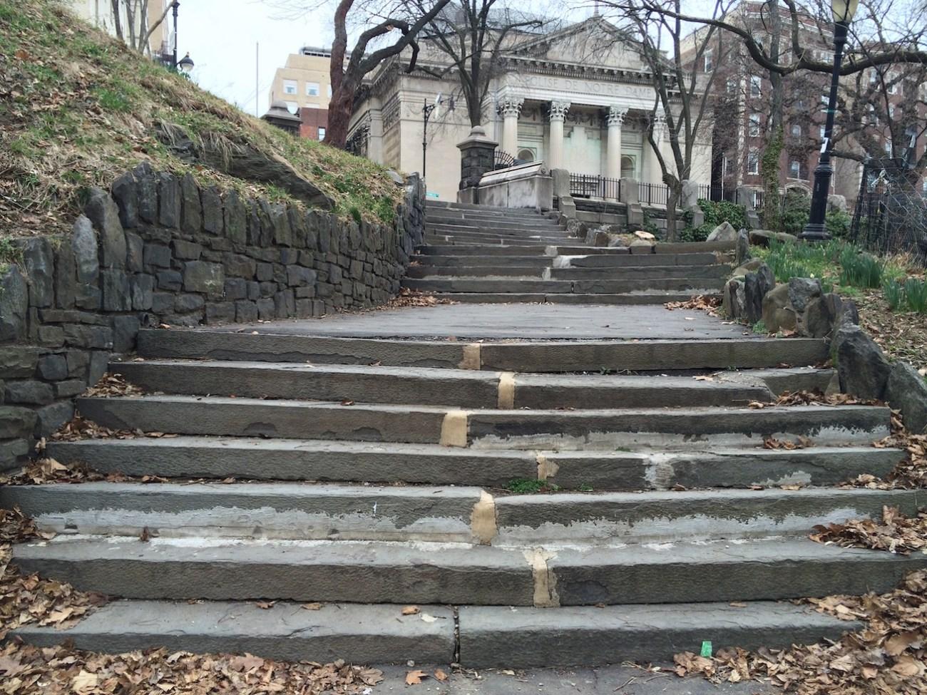 Morningside Park Stair Workout 9