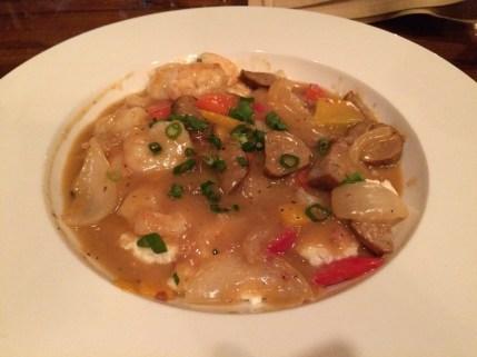 Shrimp at Grits at Poogan's Poorch