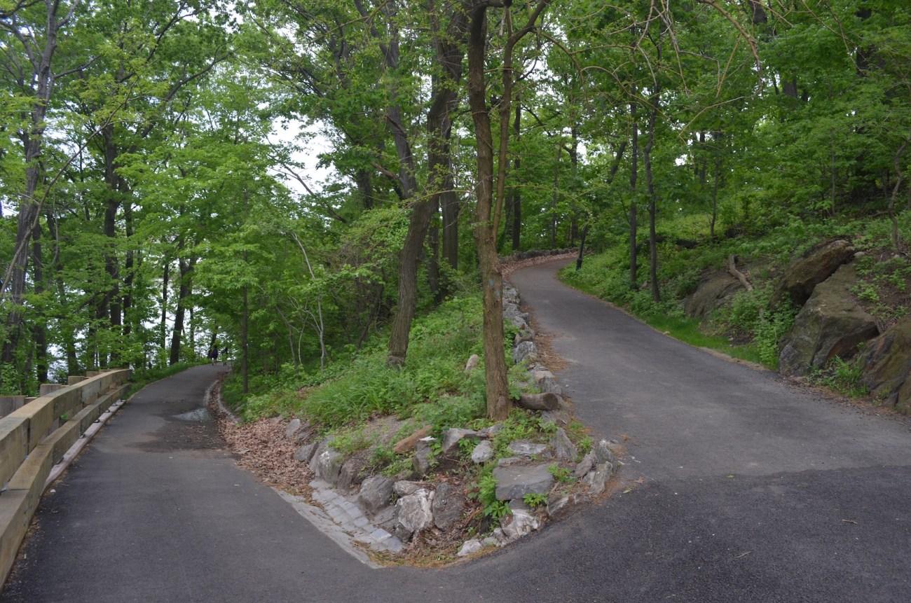 Walking Path at Inwood Hill Park