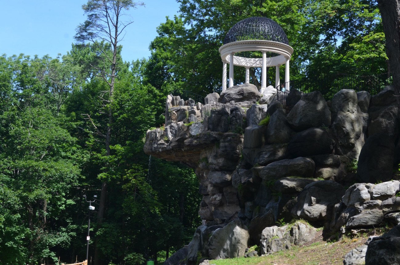 Temple of Love and Rock Garden at Untermyer Parks and Gardens