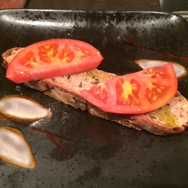 Homemade Sourdough Bread and Homegrown Tomatoes