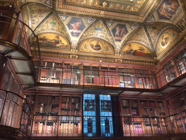 Books at JP Morgan Library and Museum