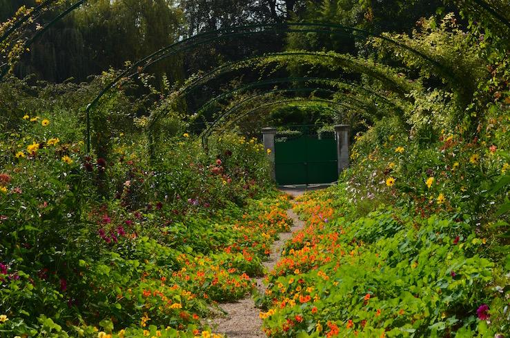 Claude Monet Garden in Giverny