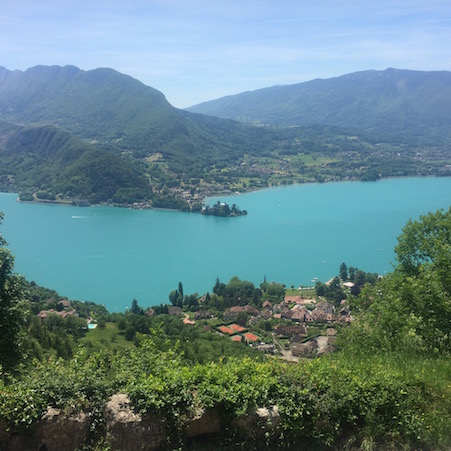 View of Lake Annecy