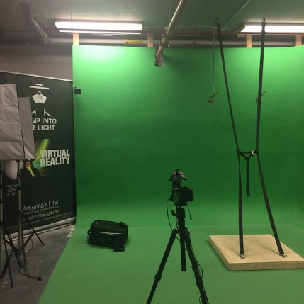 Virtual Reality Green Screen