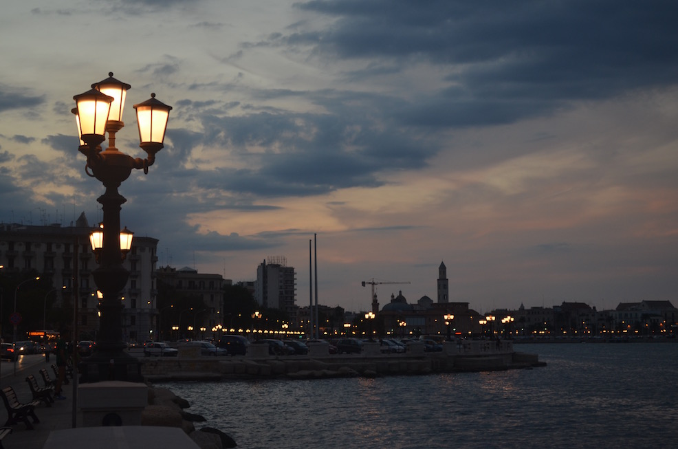 Waterfront in Bari Italy