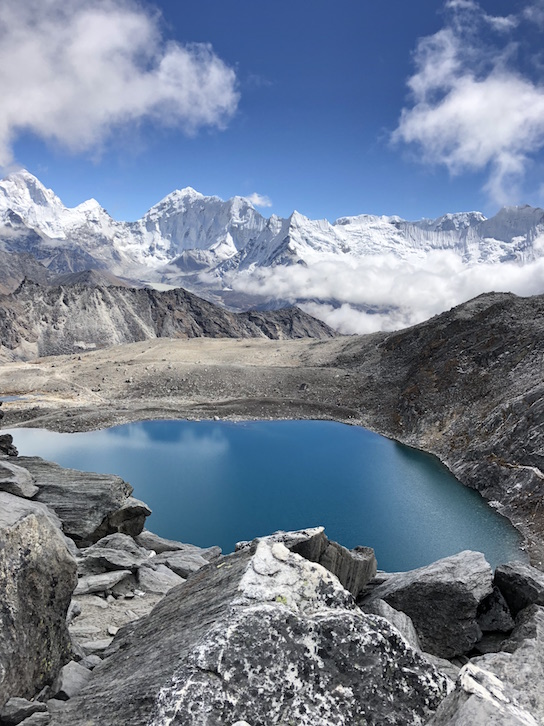 Glacial Water in Nepal