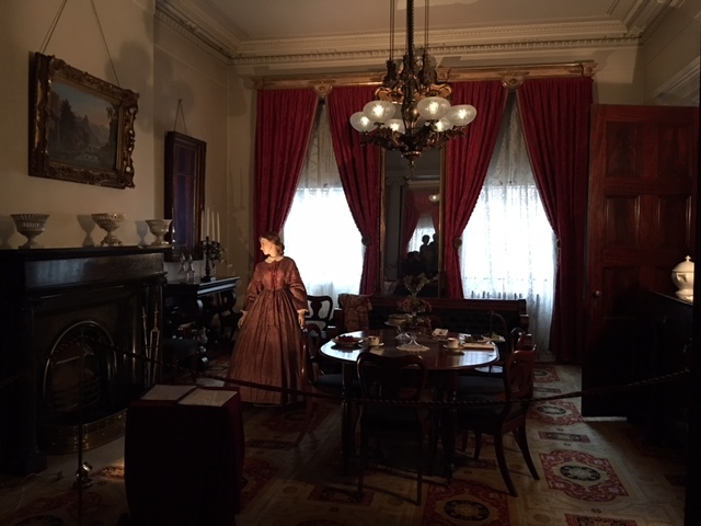 Back Parlour at Merchant House in New York's East Village