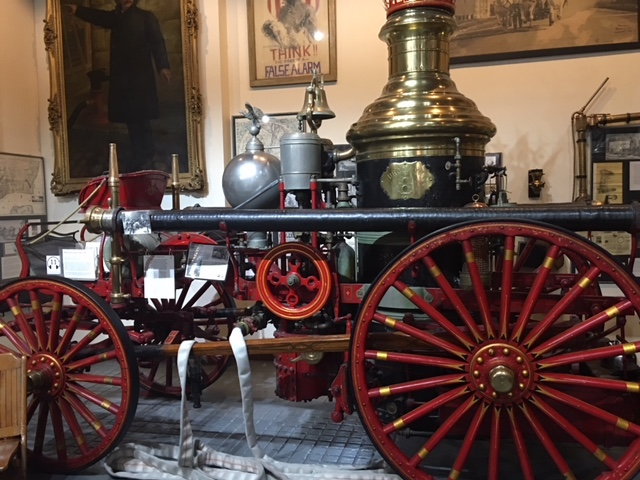 Fire House Museum in New York City