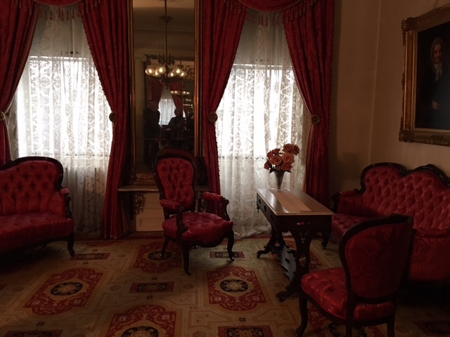 Front Parlour at Merchant's House Museum in New York