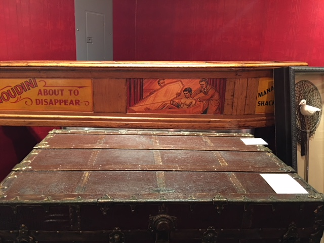 Houdini Museum Escape Trunk