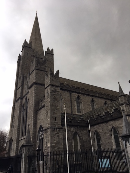 St. Patricks Church in Dublin Ireland