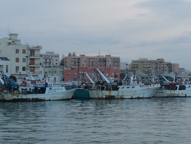 Fishing Boats in Apulia Italy