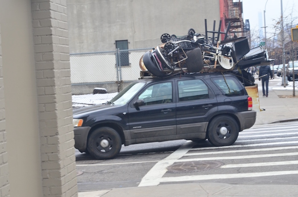 Overfilled Car