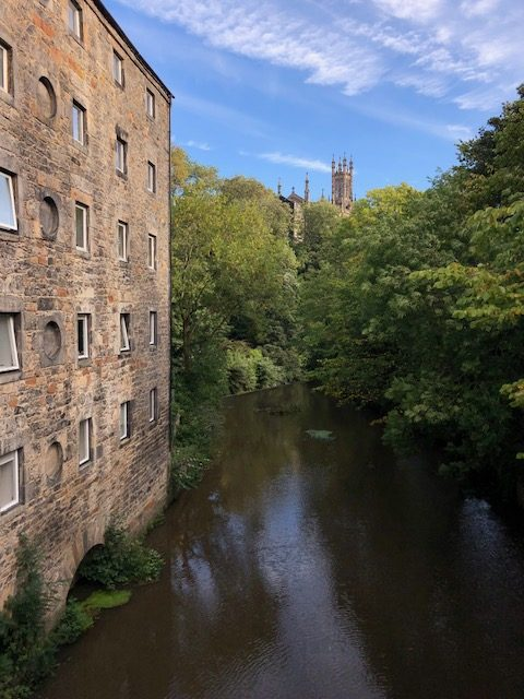 Dean Village Edinburgh Scotland
