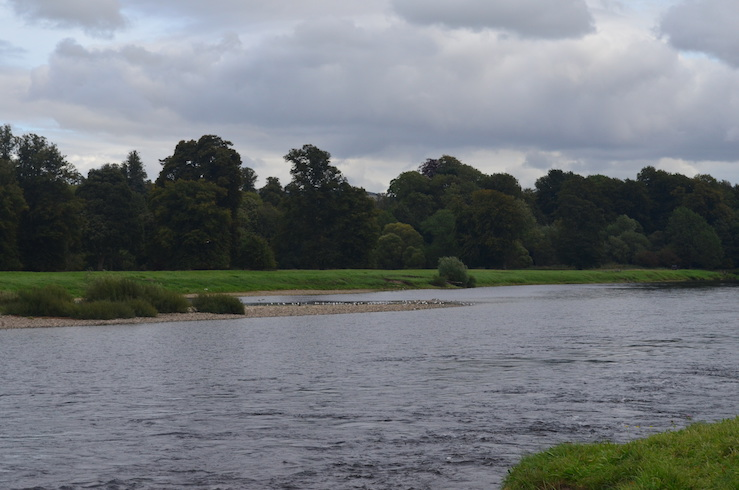 River Tay in Perth Scotland