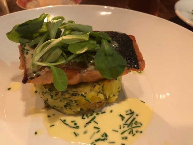 Scotish Salmon and Potatoes