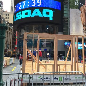 Habitat for Humanity in Times Square
