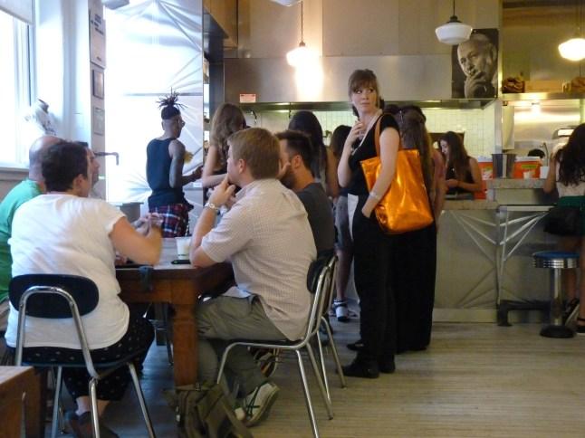 cafe at MoMA PS1