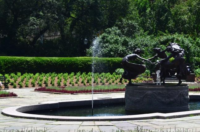 Conservatory Garden In Central Park