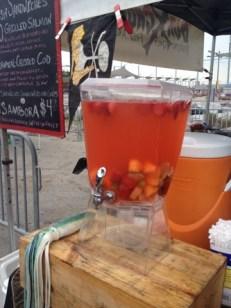 Refreshing Sambora Drink At Smorgasburg In Brooklyn Bridge Park